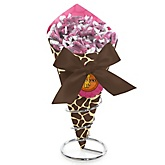 Giraffe Girl - Baby Shower Candy Bouquets with Frooties