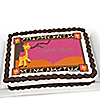 Giraffe Girl - Personalized Birthday Party Cake Toppers