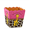 Giraffe Girl - Personalized Birthday Party Candy Boxes
