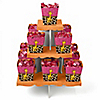 Giraffe Girl - Birthday Party Candy Stand and 13 Candy Boxes