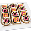 Giraffe Girl - Personalized Birthday Party Cookies