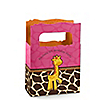 Giraffe Girl - Personalized Birthday Party Mini Favor Boxes