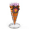 Giraffe Girl - Birthday Party Candy Bouquets with Sticklettes
