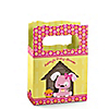 Girl Puppy Dog - Personalized Baby Shower Mini Favor Boxes