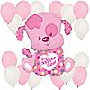 Puppy Girl - Birthday Party Balloon Kit
