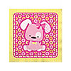 Girl Puppy Dog - Birthday Party Beverage Napkins - 16 ct