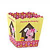 Girl Puppy Dog - Personalized Birthday Party Candy Boxes