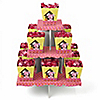 Girl Puppy Dog - Birthday Party Candy Stand and 13 Candy Boxes
