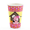 Girl Puppy Dog - Birthday Party Hot/Cold Cups - 8 ct