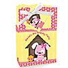 Girl Puppy Dog - Personalized Birthday Party Favor Boxes