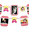 Girl Puppy Dog - Birthday Party Photo Garland Banners