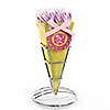 Girl Puppy Dog - Birthday Party Candy Bouquets with Sticklettes