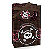 Skullicious™ - Baby Girl Skull - Personalized Baby Shower Favor Boxes