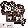 Skullicious™ - Girl Skull - Birthday Party 16 Big Dot Bundle