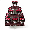 Skullicious™ - Girl Skull - Birthday Party Candy Stand and 13 Candy Boxes
