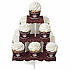 Skullicious™ - Girl Skull - Birthday Party Cupcake Stand and 13 Cupcake Wrappers