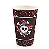 Skullicious™ - Girl Skull - Birthday Party Hot/Cold Cups - 8 ct