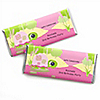 Girl Turtle - Personalized Birthday Party Candy Bar Wrapper Favors