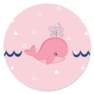 Tale Of A Girl Whale   Baby Shower Theme