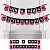 Girls Night Out - Personalized Bachelorette Party Bunting Banner & Decorations
