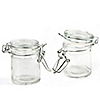 Empty Fillable Glass Canister Jar - Baptism Do It Yourself