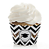 Tassel Worth The Hassle - Gold - Graduation Cupcake Wrappers & Decorations