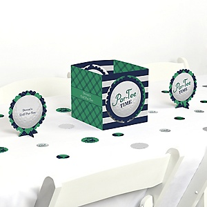 Par-Tee Time - Golf - Birthday or Retirement Party Centerpiece & Table Decoration Kit