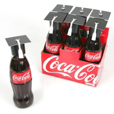 Graduation Cap Bottle Toppers