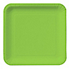 Lime Green - Baby Shower Dinner Plates 18 ct
