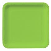 Lime Green - Baby Shower Dinner Plates - 18 Pack