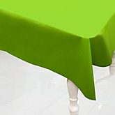 Lime Green - Baby Shower Plastic Table Cover