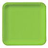 Lime Green - Bridal Shower Dinner Plates - 18 ct
