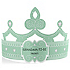 Green - Grandma-To-Be-Tiara - Personalized Baby Shower Gift
