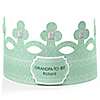 Green - Grandpa-To-Be-Crown - Personalized Baby Shower Gift