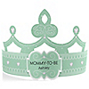 Green - Mommy-To-Be-Tiara - Personalized Baby Shower Gift