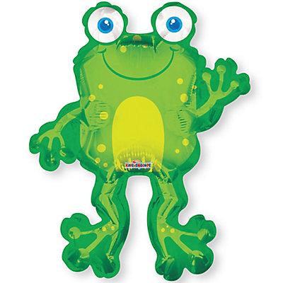 "36"" Happy Frog - Baby Shower Mylar Balloon"