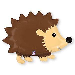 "30"" Hedgehog - Super Shaped Baby Shower Mylar Balloon"