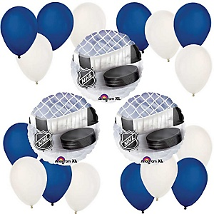 Hockey - Mylar Balloon Kit