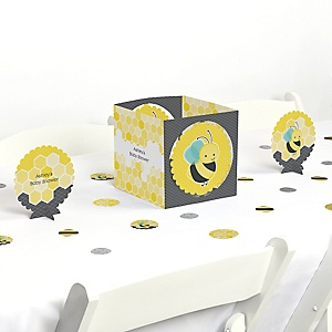 Honey Bee - Baby Shower Centerpiece & Table Decoration Kit