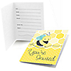 Honey Bee - Fill in Party Invitations - 8 ct