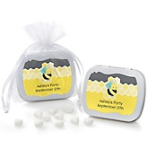 Honey Bee - Mint Tin Personalized Baby Shower Favors