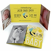Honey Bee - Photo Birth Announcements