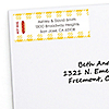 Summer BBQ - Hot Diggity Dog - Personalized Everyday Party Return Address Labels - 30 ct