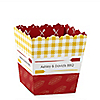 Summer BBQ  - Hot Diggity Dog - Personalized Everyday Party Candy Boxes