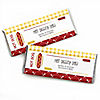 Summer BBQ  - Hot Diggity Dog - Personalized Everyday Party Candy Bar Wrapper Favors