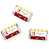 Summer BBQ  - Hot Diggity Dog - Personalized Everyday Party Mini Candy Bar Wrapper Favors - 20 ct