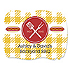 Summer BBQ - Hot Diggity Dog - Personalized Everyday Party Squiggle Stickers - 16 ct