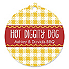 Summer BBQ - Hot Diggity Dog - Personalized Everyday Party Tags - 20 ct