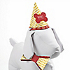Summer BBQ  - Hot Diggity Dog - Pooch Party Bow Tie & Personalized Hat Kit