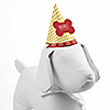 Summer BBQ - Hot Diggity Dog - Personalized Dog Party Hat - 8 ct